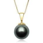 9.0 - 10.0 mm Tahitian Cultured Pearl Pendant