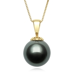 10.0 - 11.0 mm Tahitian Cultured Pearl Pendant