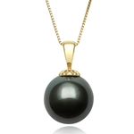 11.0 - 12.0 mm Tahitian Cultured Pearl Pendant