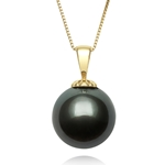 12.0 - 13.0 mm Tahitian Cultured Pearl Pendant