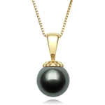 8.0 - 9.0 mm Tahitian Cultured Pearl Pendant